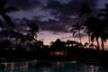 Resort after sunset