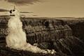 Grand Canyon Snowman