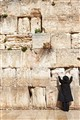 praying at wailing wall