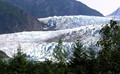 Base of Mendenhall Glacier