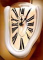Dali-style wall clock for sale.