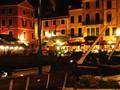 Portofino at night
