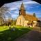 A church through its lych gate-002496