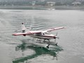 Two seaplanes in Juneau harbor
