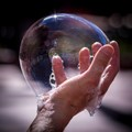 Reflections in Soap Bubble