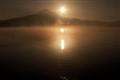 lake perris sun rise