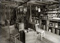 Actual interior of the general store on the Dudley homestead, Gainesville FL USA