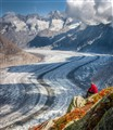 Breathtaking Aletsch Glacier