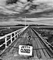 Closed jetty