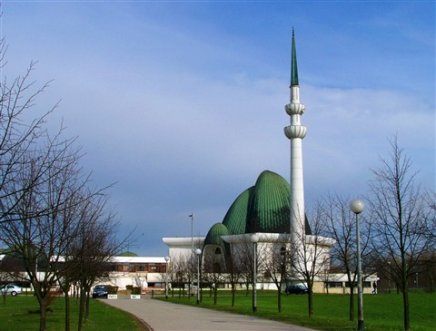 Mosque in Zagreb, Croatia