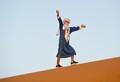 On the Sahara dune