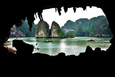 Inside Halong Bay