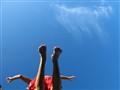 jumping feet