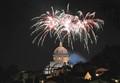 Fireworks in Todi