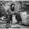 2013-12-27 PS Morocco Ait Ben Haddou Musician Street BW SFX