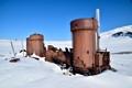 Old Engine, Spitsbergen Island, Arctic