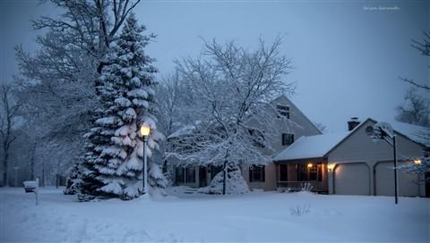 Snow storm, Dec 2012