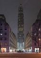Snowy Rockefeller Center