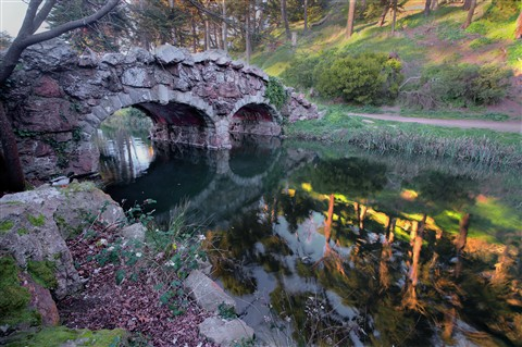 Stone Bridge at Stow Lake, 3