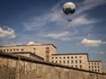 Berlin - balloon over the Wall