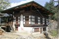 traditionnal house in Bhutan