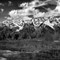 tetons in Black and White-1