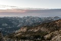 View of Cathedral Range, Yosemite NP