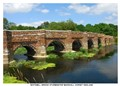 Ironstone and limestone bridge.16th Century