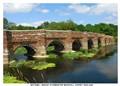 Ironstone and limestone bridge.16th Century