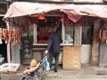 Bejing meat shop huttomg vilage