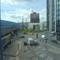 P1000958 Traffic near Waterloo station, London, through double glazed hotel window