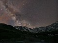 Milky Way above Montagne des Agneaux, Massif des Écrins