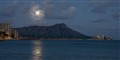 Diamond Head Moonrise