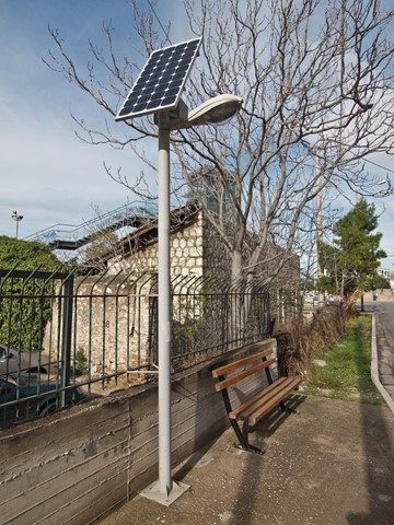 solar power scene
