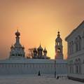 Winter morning in Tolgsky monastery
