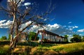 Abandoned Rock Island Railroad Trestle
