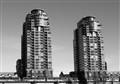 Twin towers, False Creek. Vancouver. BC