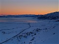 Eastern Sierra Nevada Winter Sunset
