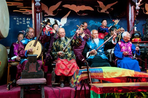 Naxi Music Concert, China
