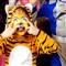 Tiger fright