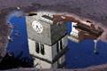church in water