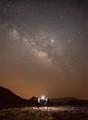 Saudi Desert - Stars and Scorpions