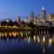 Melbourne, blue hour