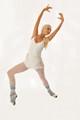 dancer on white