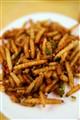 Deep fried bamboo worm