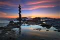 Sunset in Sisiman Bay