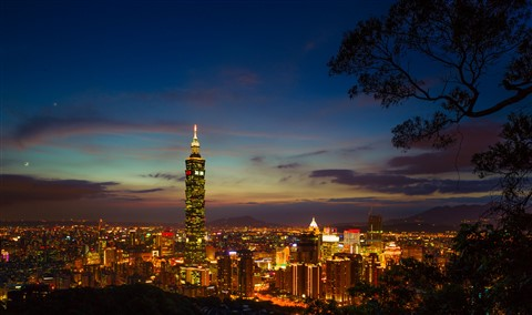 the taipei night