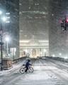 Urban snowfall