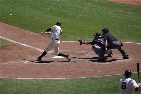 Roger Kieschnick hitting