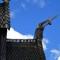 detail stave church Borglund